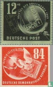 Stamp Exhibition DEBRIA (DDR 10)