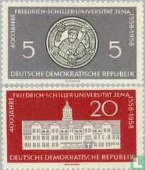 Universität Jena 1558 bis 1958