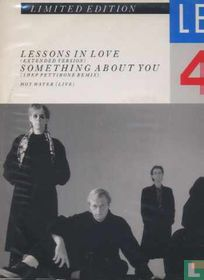 Lessons In Love 12""