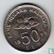 Maleisië 50 sen 1999