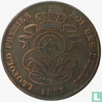 België 2 centimes 1856