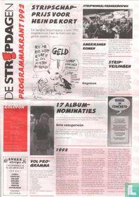 De Stripdagen - Programmakrant 1992
