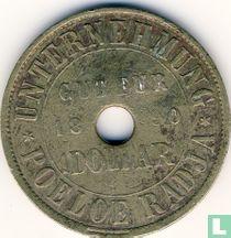 Nederlands-Indië 1 dollar 1890 Plantagegeld Sumatra, Poeloe Radja
