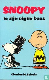 Snoopy is zijn eigen baas