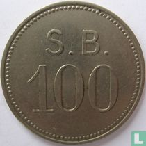 St Bavo kliniek 100 cent 1952