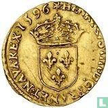 France 1 gold ecu 1596 (S)