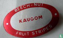 Beech-Nut Fruit Stripes kaugom