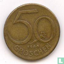 Austria 50 groschen 1966