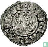 France denier 1266 Anjou