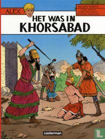 Het was in Khorsabad