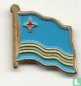 Aruba nationale vlag