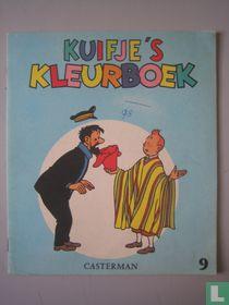 Kuifje's kleurboek 9