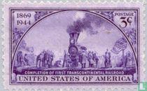 Transcontinental railroad 1869-1944