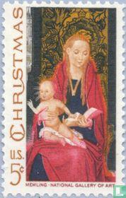 Maagd en het kind Jezus