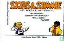 Sjors & Sjimmie plakken plaatjes in / Sjors & Sjimmie verven de schutting