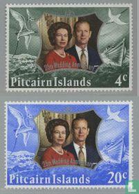 Koningin Elizabeth II - Huwelijksjubileum