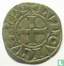 France denier (penning) 1230 Languedoc