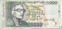 Mauritius 200 Rupees