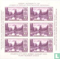 Briefmarkenausstellung in Atlantic City