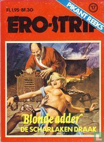 Blonde Adder - De scharlaken draak