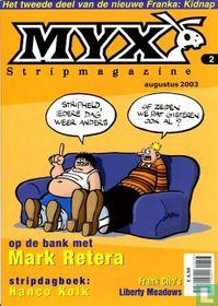 Myx stripmagazine 1e jrg. nr. 2