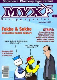 Myx stripmagazine 1e jrg. nr. 4