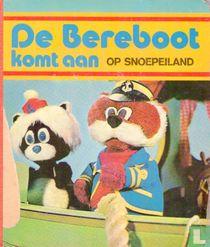 De Bereboot komt aan op snoepeiland
