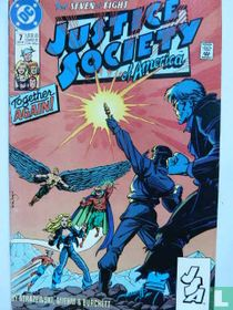 Vengeance From the Stars!, Chapter 7: The Return of the Justice Society