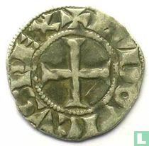 France denier tournois 1260 Parijs