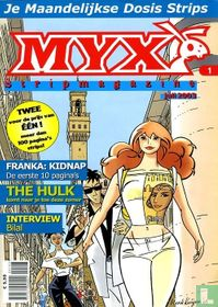 Myx stripmagazine 1e jrg. nr. 1
