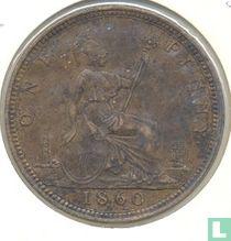 Verenigd Koninkrijk 1 penny 1860