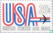 USA and airplane