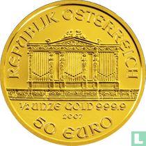 "Austria 50 euro 2007 ""Wiener Philharmoniker"""