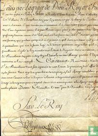Frankrijk, Koninklijke brief