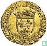 France 1 gold ecu 1541 (D)