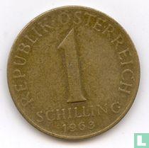 Austria 1 schilling 1963