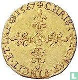 France 1 gold ecu 1567 (B)