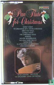 Pan flute for Christmas
