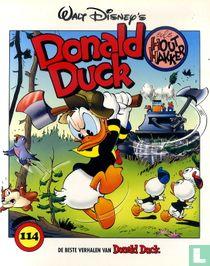 Donald Duck als houthakker