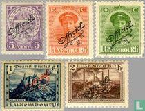 Staatswapen, Groothertogin Charlotte en Landschappen