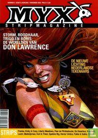 Myx stripmagazine 1e jrg. nr. 5