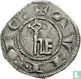 France denier 1245 Avignon