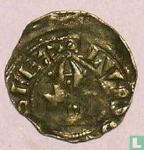 France denier (penning) 1120 Dreux
