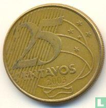 Brazilië 25 centavos 2003