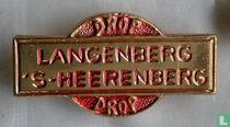 Drop Langenberg 's Heerenberg Drop [rood]
