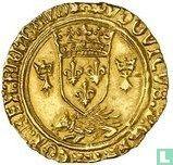 """France ECU """"golden porcupine"""" 1505 Brittany"""