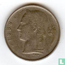 België 1 franc 1958 (FRA)