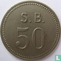 St Bavo kliniek 50 cent 1952