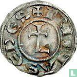 France denier 1250 Lyon