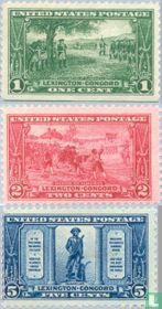 1925 Battle of Lexington-Concord (USA 50)
